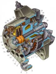 Electric equipment, automotive alternators