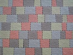 Stone blocks concrete Roman stone Chernivtsi