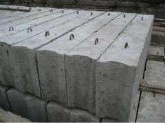Фундаментные блоки стен, ФБС