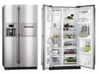 Side by Side AEG S66090XNS0 refrigerator