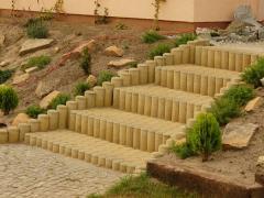Column round of concrete Chernivtsi
