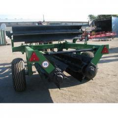 PT-6 grinder for crushing of the vegetable remains
