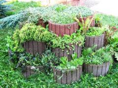 Street flowerpots for flowers Chernivtsi