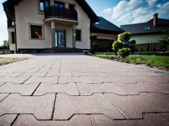 Tile for the sidewalk the Stone Chernivtsi