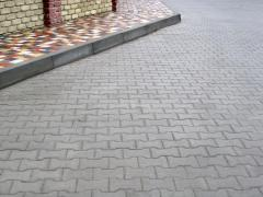 Tile sidewalk Brush Chernivtsi