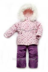 "Зимний детский костюм-комбинезон ""Bubble"