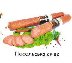 Sausage raw smoked Ambassadorial CK BC
