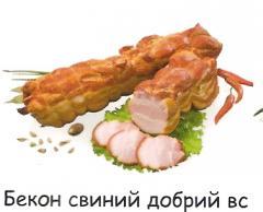 Bacon pork good VS