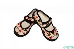 Shoes textile nurseries. Tufl_ tekstiln_ 001Ya