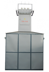 Complete transformer substation deadlock with air