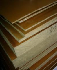 Textolite electrotechnical sheet brands A, B, PT,