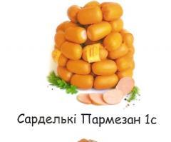 Parmesan 1C sausages