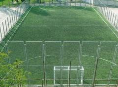Lawns are artificial, an artificial grass -