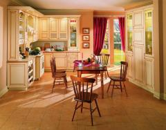 Кухня из  дерева, любой сложности