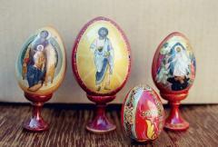 Pisanka egg is inexpensive Ukraine