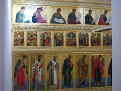Iconostasis from a tree Kiev