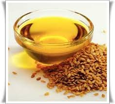 The linseed oil which is not refined.