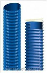 Flexible hose EOLO SL model of 50 mm, blue
