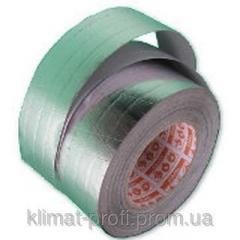 Adhesive tape aluminum Alenor of 100 mm x 40 m
