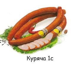 Sausage smoked house Chicken 1C