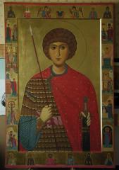 Icon great martyr Georgi Ukraine