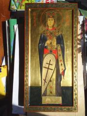 Ekaterina great martyr Kiyev's icon