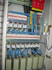 Automatic condenser installation for compensation