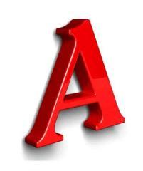 Обьемные буквы
