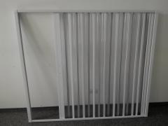 Пластиковая штора для душа и ванной 1,7х1,5м