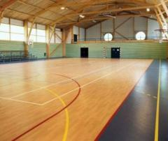 Floor coverings of Gerflor for sports rooms
