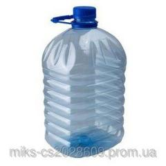 Large bottle of 5 l