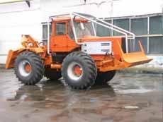 Машина трелевочная ЛТ-157