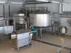 Production line of cheeses of Pasts Filat,