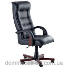 Кресло для руководителя Роял Люкс вишня Неаполь