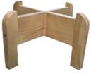 деревянная подставка для диспенсера