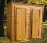 Дачные деревянные туалеты