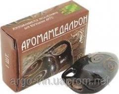 Аромамедальон - керамический кулон из