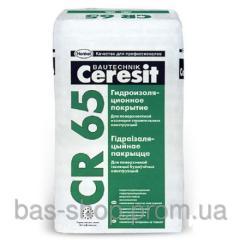 Certesit CR-65, Смесь гидроизоляционная, 25 кг