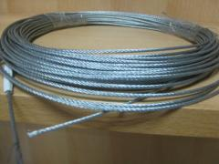 Cable from stainless steel of 1.5 mm Chernivtsi