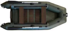 Надувная лодка ПВХ с плоским дном и наборной