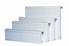 Radiators steel panel type