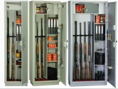 Safes, cases for the weapon
