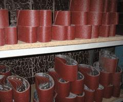 Шлифовальные ленты для ручных шлифовальных машин