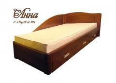 Ліжка підліткове дерев'яні Київ купити