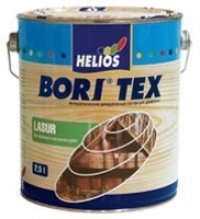 Decorative azure covering of BORITEX LASUR for