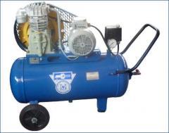 Компрессор К-23  ресивер 60 л; давление 6 Атм;