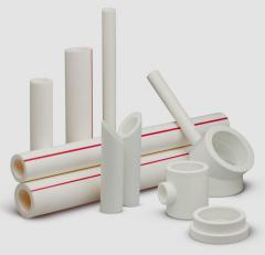 Pipes and fitting polypropylene for cold and hot