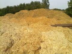 Sawdust, shaving; waste of sawmilling, supply of