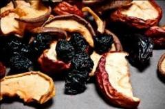 Dried fruits, export is possible