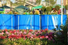 Бассейн каркасный для выращивания товарной рыбы 15 м3